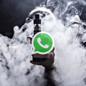 Whatsapp support group vaping image