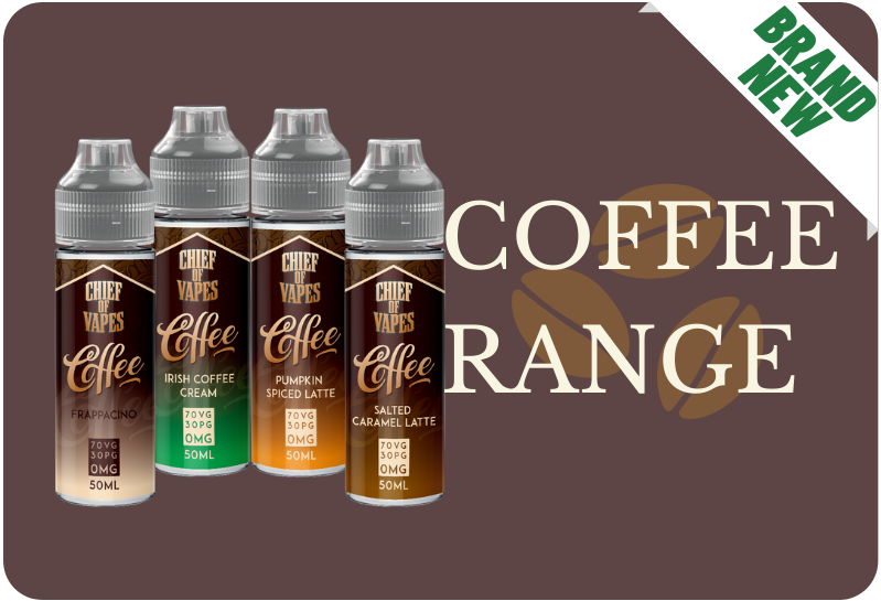 Brand new Coffee range